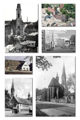 Kirche, Aufnahmen ab 1950