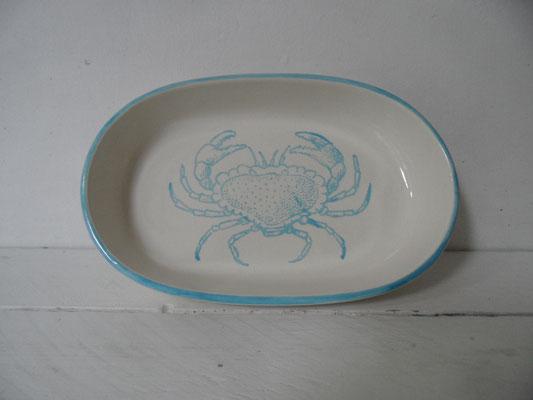 Individuell bemaltes Tablett aus Keramik