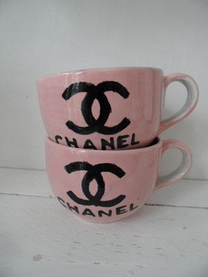 Individuell bemalte Tassen aus Keramik