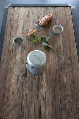 Tisch von oben