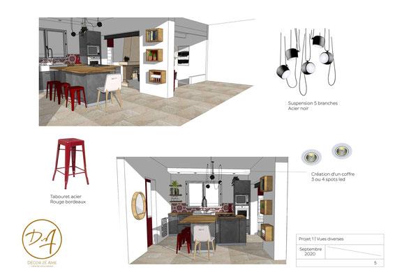 Comment faire un plan de cuisine en 3D