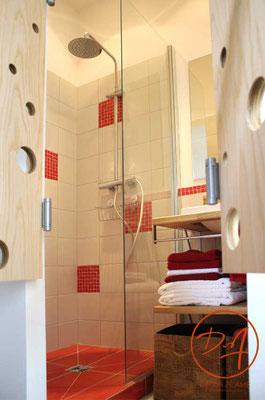Création douche à l'italienne - Décor Zé Âme