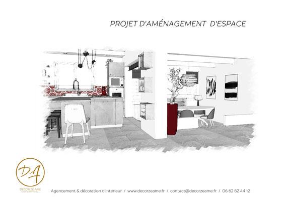 Aménagement d'espace cuisine