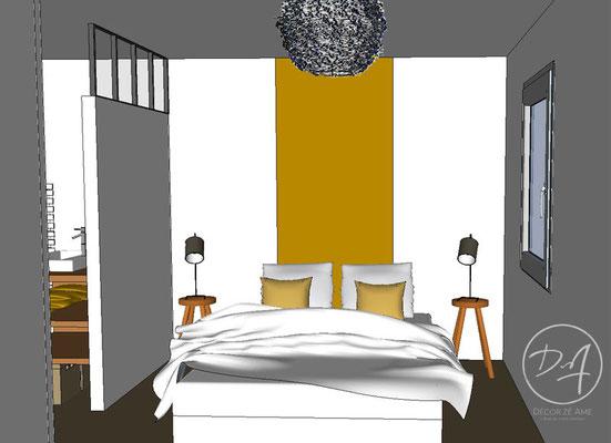 Projet 3D chambre - Décor Zé Âme