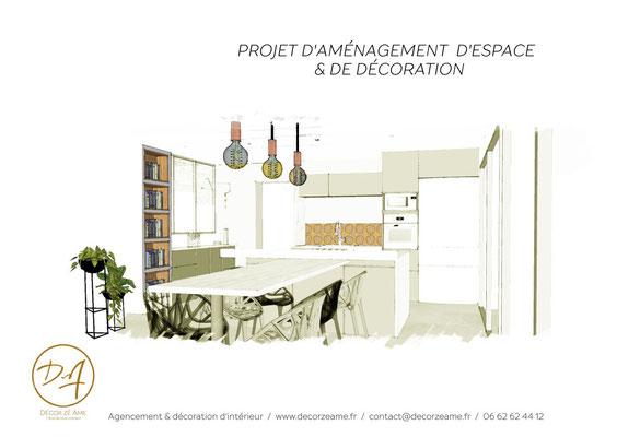 Projet aménagement d'espace