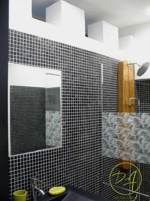 Rénovation salle d'eau - Décor Zé Âme
