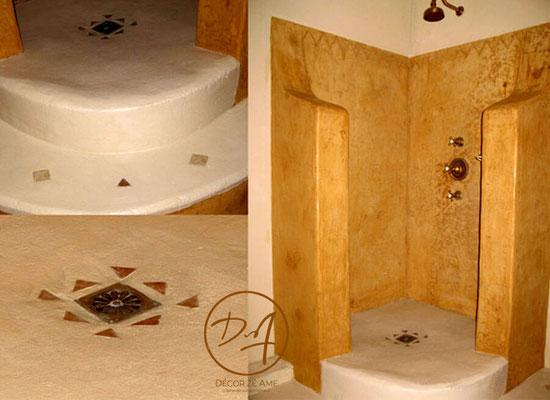 Tadelakt salle de bain - Décor Zé Âme