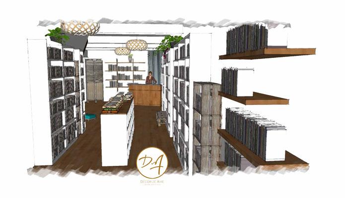 Projet librairie Montpellier