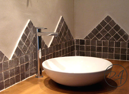Crédence salle de bain - Décor Zé Âme