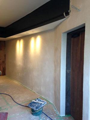 砂漆喰左官壁