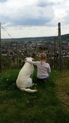 """Leni und """"klein Mia"""" :-)"""