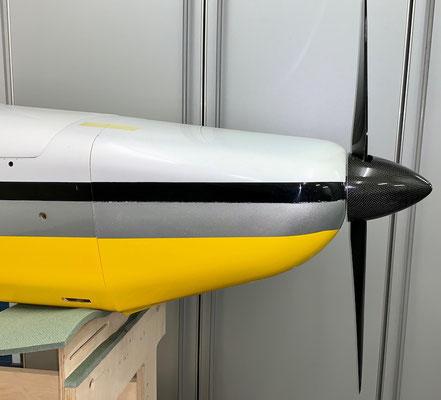 """Rumpf, """"Antriebs-/Zündungsmontage inkl. Spinner und Propeller"""""""