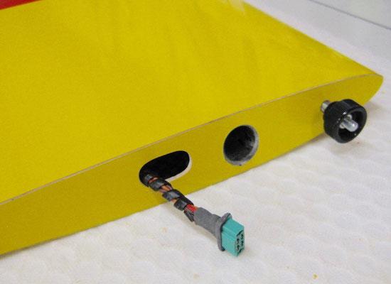 MPX-RC-Stecker/Tragflächen-Arretierung