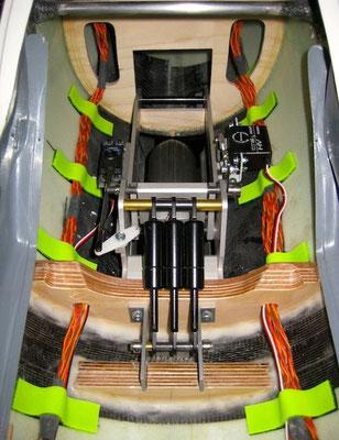 Detail RC-Kabelverlegung