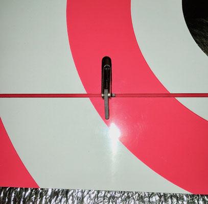 Tragflächen, Detail Querruder-IDS-Anlenkung