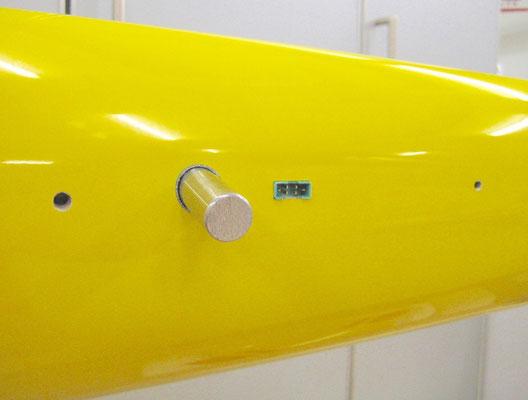 MPX-RC-Stecker/Tragflächen-Arretierung Rumpfseitig