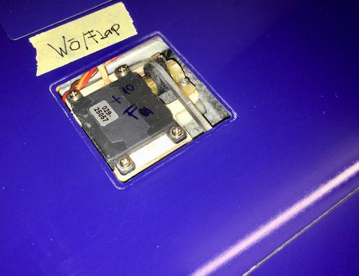 Tragflächen, Wölbklappen-Servo-/Halter mit IDS-Anlenkung