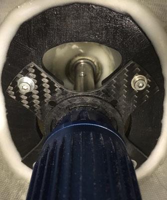 Rumpf, Detail Motorspannt-/Besfestigung