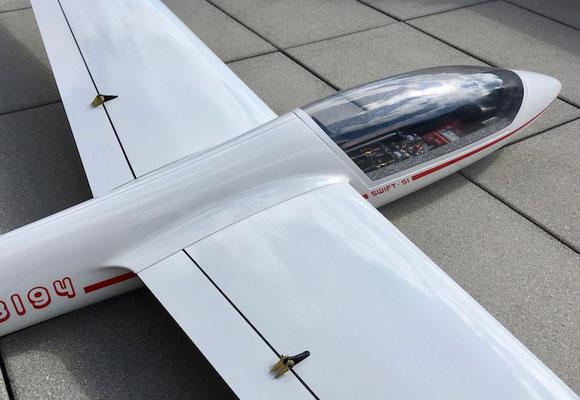 Detailansicht fertiges Modell
