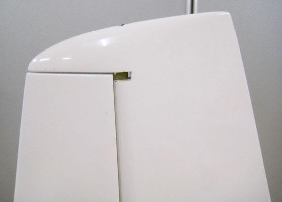 Detail Oberes Seitenruderlager