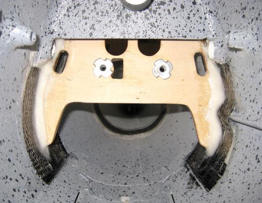 """Impeller-Rumpfspant (Rückansicht) """"Montiert"""""""