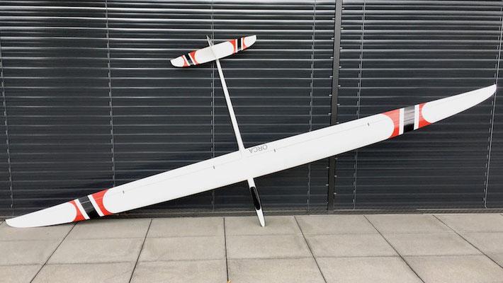 """Fertiges Modell (Lange Ohren, 3.95m Spannweite) """"Oberseite"""""""