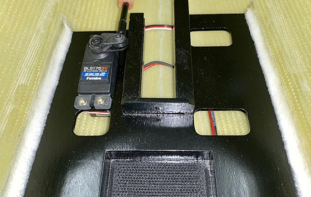 Rumpf, Detail RC-Einbaubrett