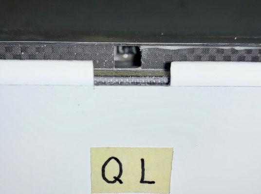 """Tragflächen, Querruder-LDS-Anlenkungs-Aussparungen """"Erstellt"""""""