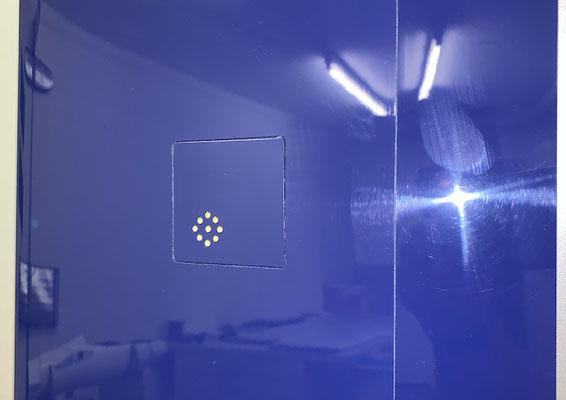 """Fertige Innentragflächen """"Detail Beleuchtung"""""""