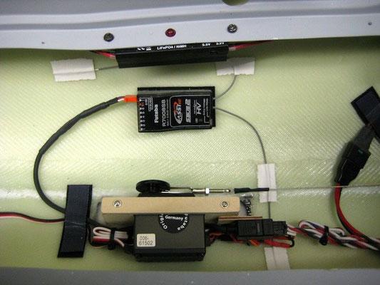 RX, DPSI Micro, Bremsservo