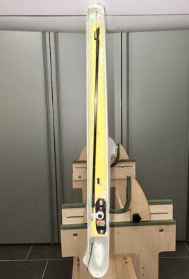 """Höhenleitwerk, Servo-/Anlenkung (3mm Cfk-Rohr)  """"Montiert"""""""