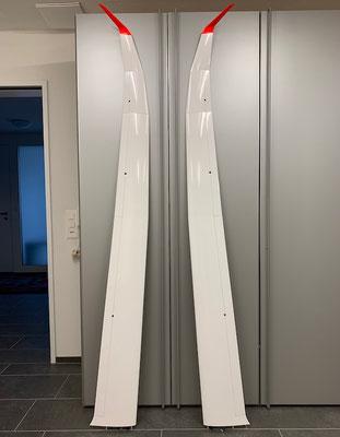 """Fertige kurze Tragflächen (4.28m) """"Oberseite"""""""