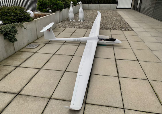 """Fertiges Modell mit 4.28m Spannweite """"Ansicht"""""""