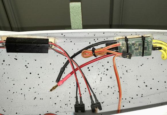 "Rumpf, DPSI-Micro DualBat und Regler ""Montiert"""