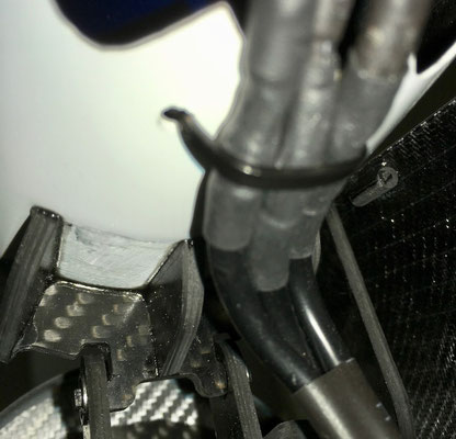 Rumpf, Detail Elektro-Klappimpeller