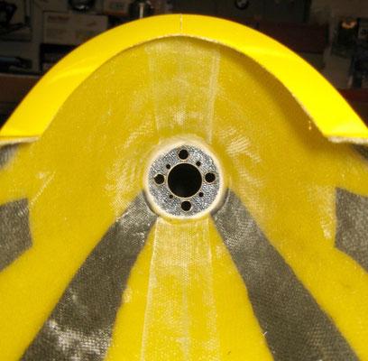 Motorspannt (CFK-verstärkt) von Innen