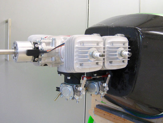 """3W-112iB4, 4 Zylinder Boxermotor """"Montiert"""""""