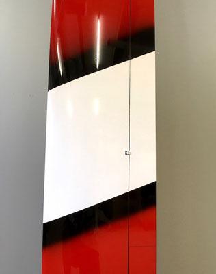 Detail Tragflächenaussenteil > Oberseite