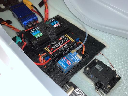 """Rumpf, GPS-Logger 3 auf RC-Einbaubrett """"Montiert"""""""