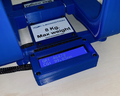Gesamtgewicht-/CG (Schwerpunkt)