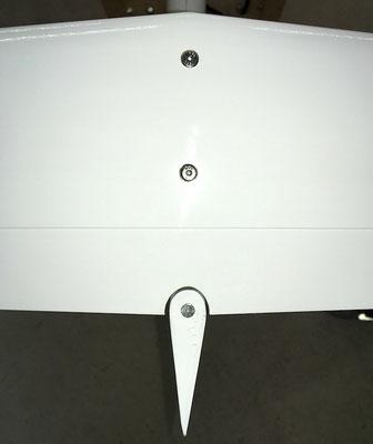 Aufsicht Höhenleitwerk-/Seitenruder