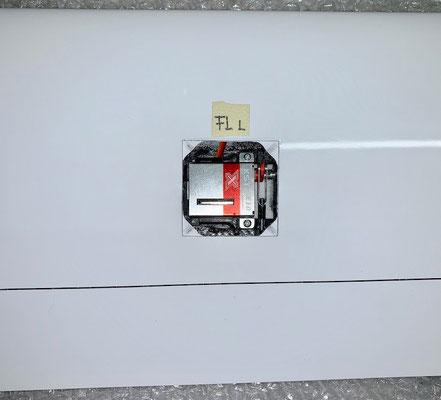 """Tragflächen, Flap (Bremsklappen)-Servohalter-/Anlenkung """"Montiert"""""""