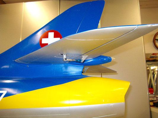 Detail Leitwerk (Fast)-Fertiges Modell