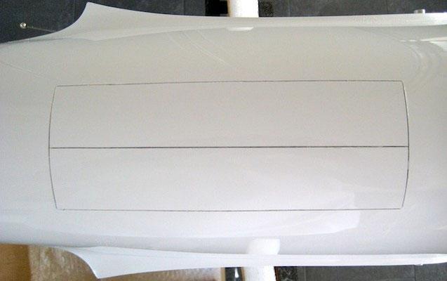 Klappen-Triebwerksöffnung (AFT 19X Turbo)