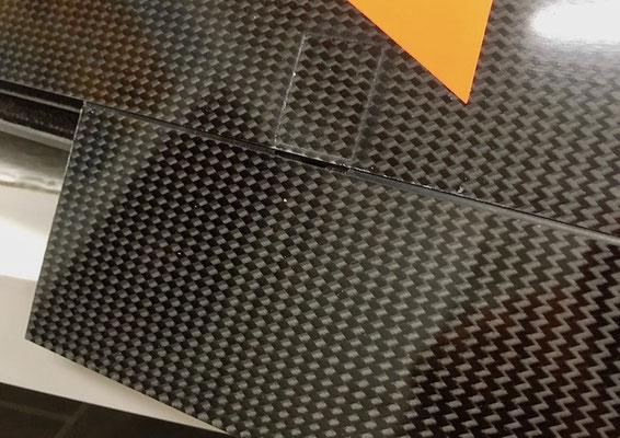 """Tragflächen, Querruderservo-/IDS-Halter/Anlenkung """"Detail Oberseite"""""""