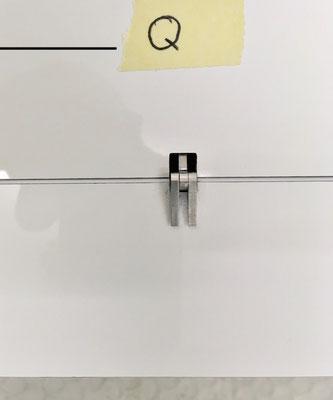 Tragflächen, Ansicht IDS-Anlenkung Querruder auf Tragflächenoberseite