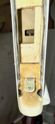 Detail Seitenleitwerksspanten