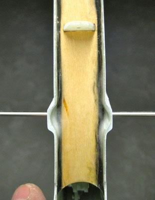 Seitenruder-End-/Abschlussleiste (mit Kohleroving verstärkt)