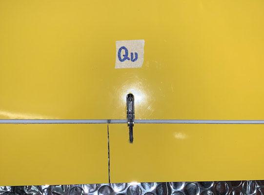 """Tragflächen, Querruder-Servo mit Anlenkung """"Montiert"""""""