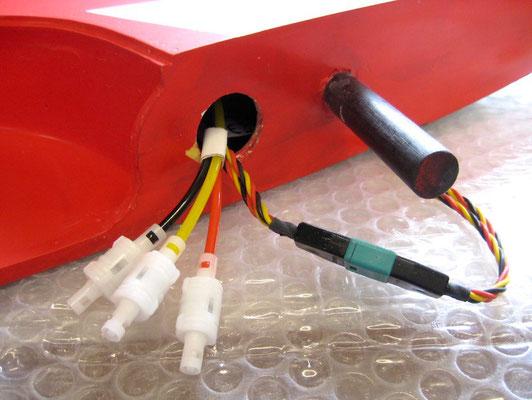 Detail RC-MPX-/Pneumatische Verbindungen